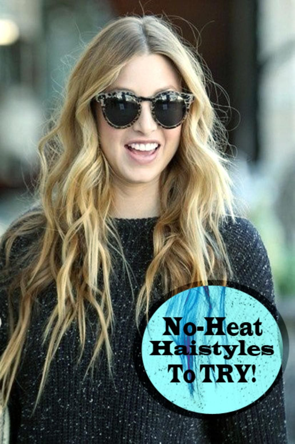 Give you hair a break and try this honestly cute hairstyles that