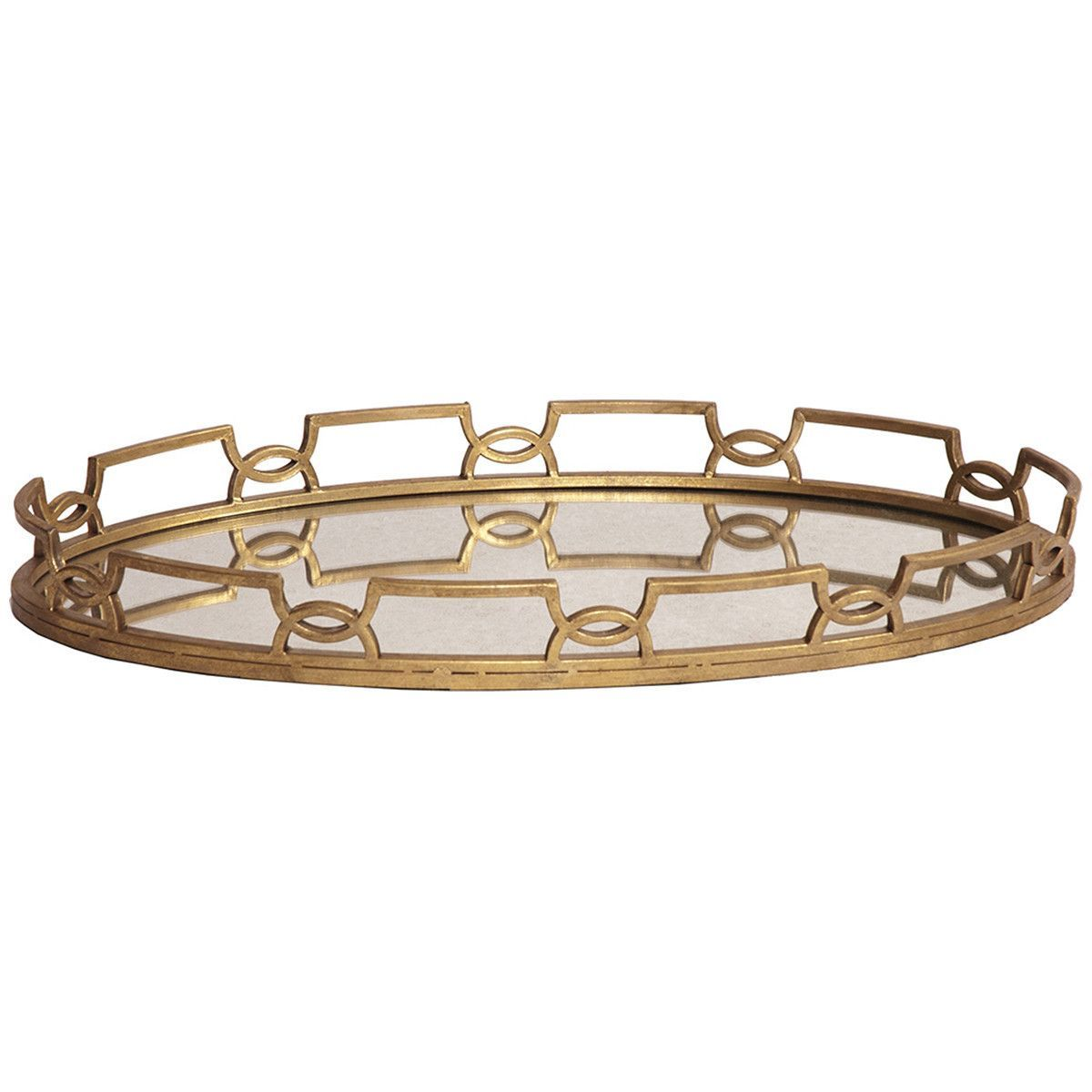 Howard elliott bright gold metal tray metal trays trays and bright howard elliott bright gold metal tray the howard elliott bright gold metal tray is a decorative serving platter with an antiqued mirrored surface thats geotapseo Image collections