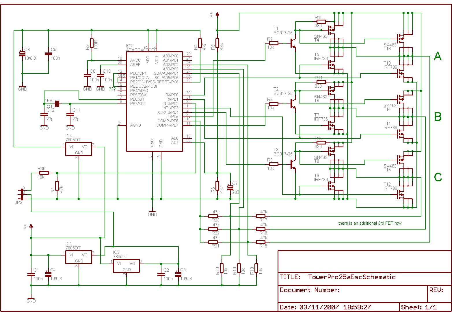 Brushless Motor Sd Control Circuit Diagram