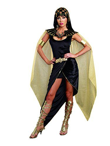 Dreamgirl Women's Cleo Egyptian Queen Costume, Black, X-L... https://www.amazon.com/dp/B00TDW859O/ref=cm_sw_r_pi_dp_x_olCyybSVPJCQ4
