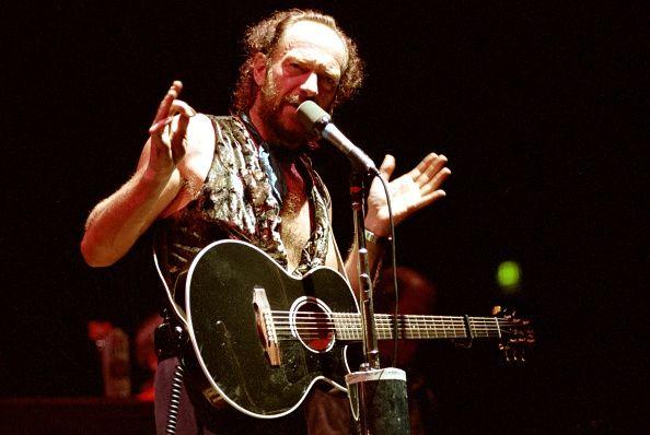 Ian Anderson de Jethro Tull realiza no Auditório Cívico de San Francisco em 17 de dezembro 1991 em San Francisco Califórnia
