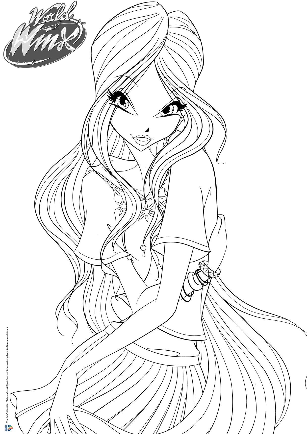 Pin By Mariam789 On Winx Club Winx Club Club Coloring Pages