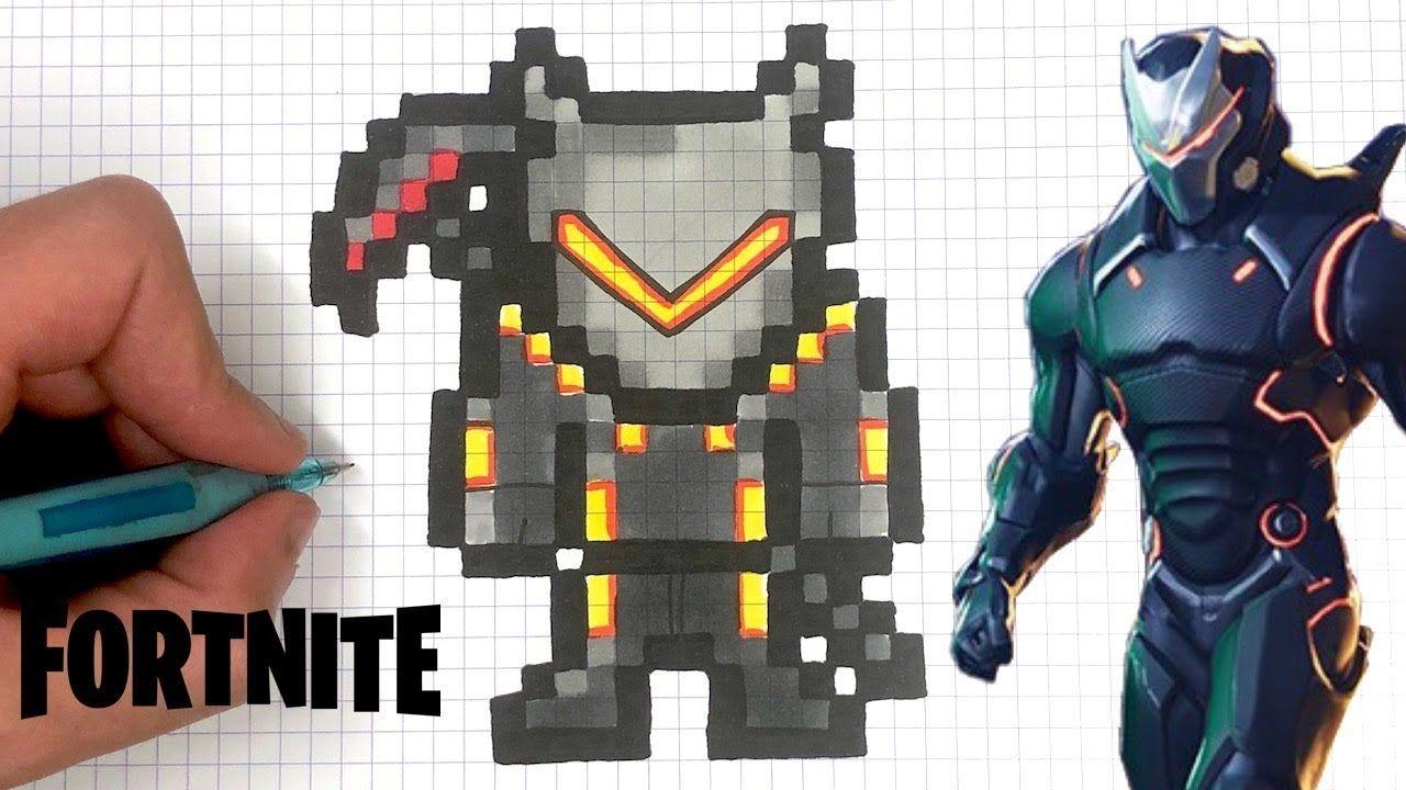Fortnite Skins List En 2020 Pixel Art Coloriage Pixel Dessin Pixel
