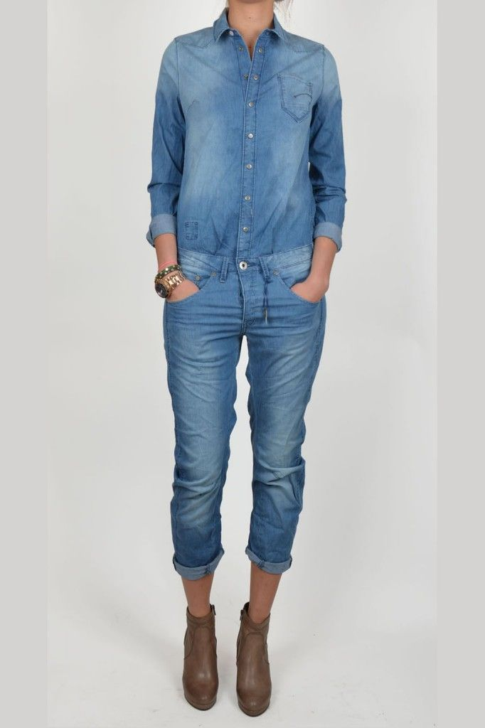 725aabac253c6 Denim Jumpsuit by G-Star Raw. G-STAR RAW ARC 3D BOILER SUIT 07   Kelly  Fashion Webstore