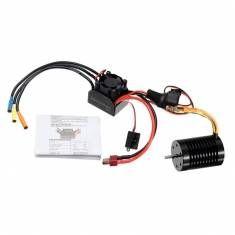 1/10 Scale F540 Slot Brushless Motor 3930KV + 45A Waterproof
