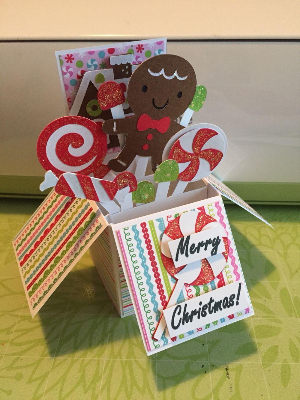 Cricut christmas card create a critter 2 cricut