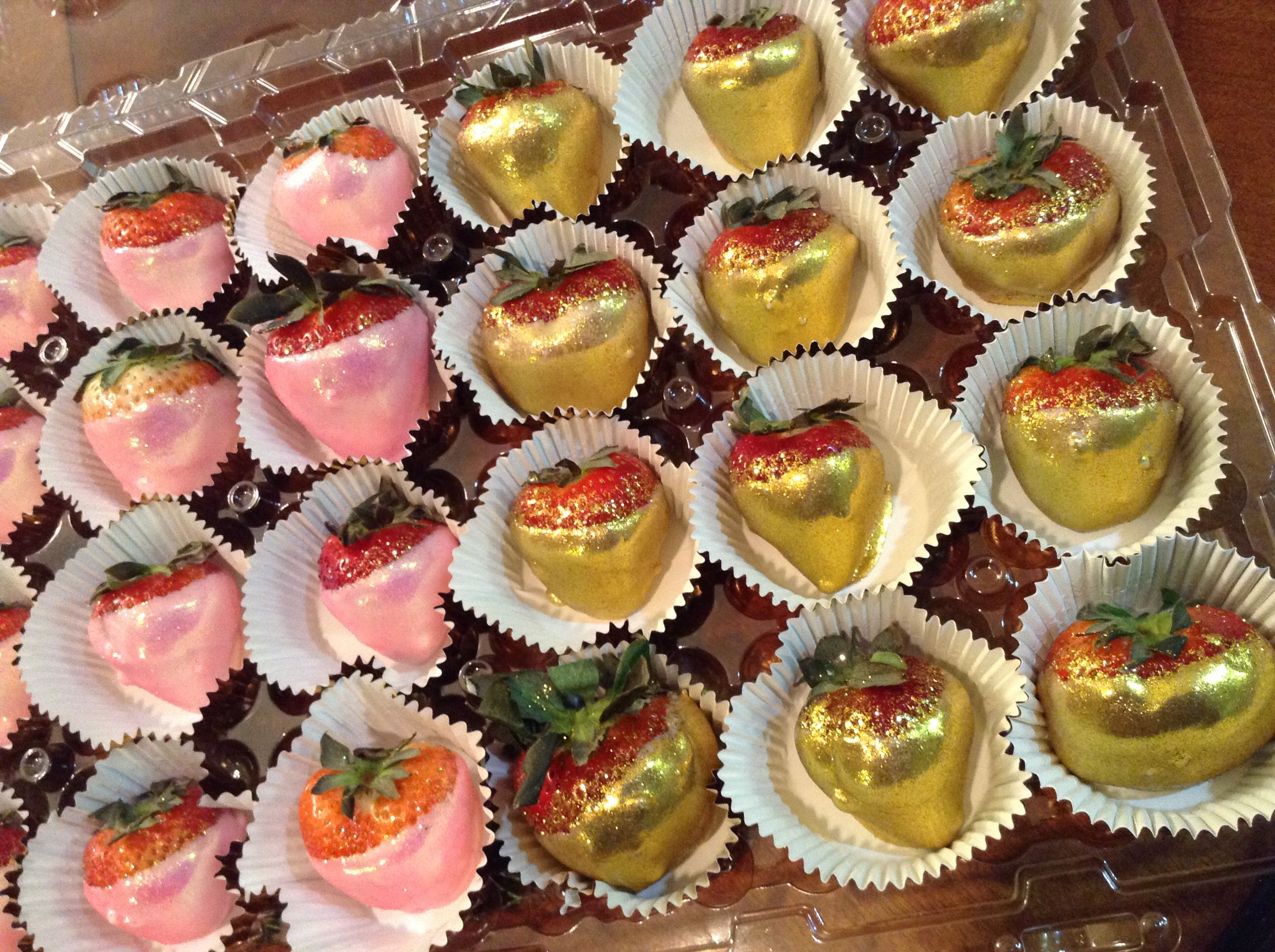 Chocolate covered strawberries infused with Hennessy alcohol adult ...