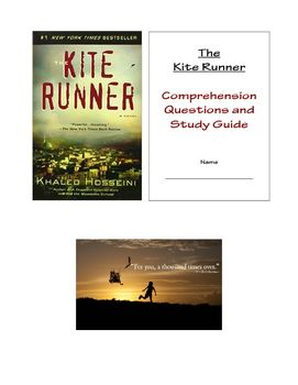 The Kite Runner Lesson Comprehension Questions And Study Guide In 2021 Comprehension Questions Study Guide This Or That Questions