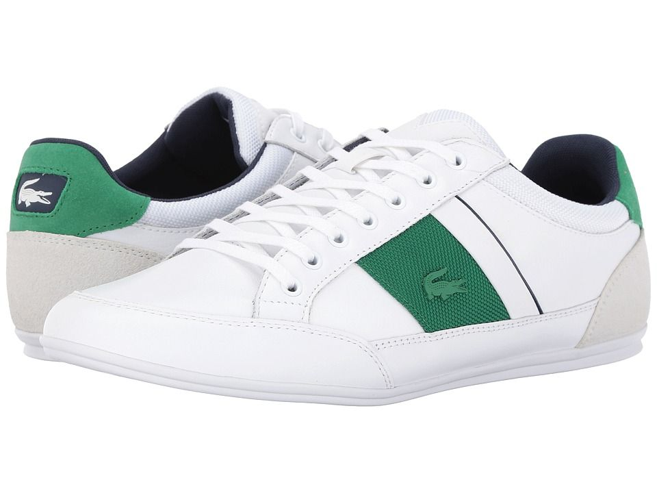 97dd95bb20e6a8 Lacoste Chaymon G416 1 Men s Shoes White Green