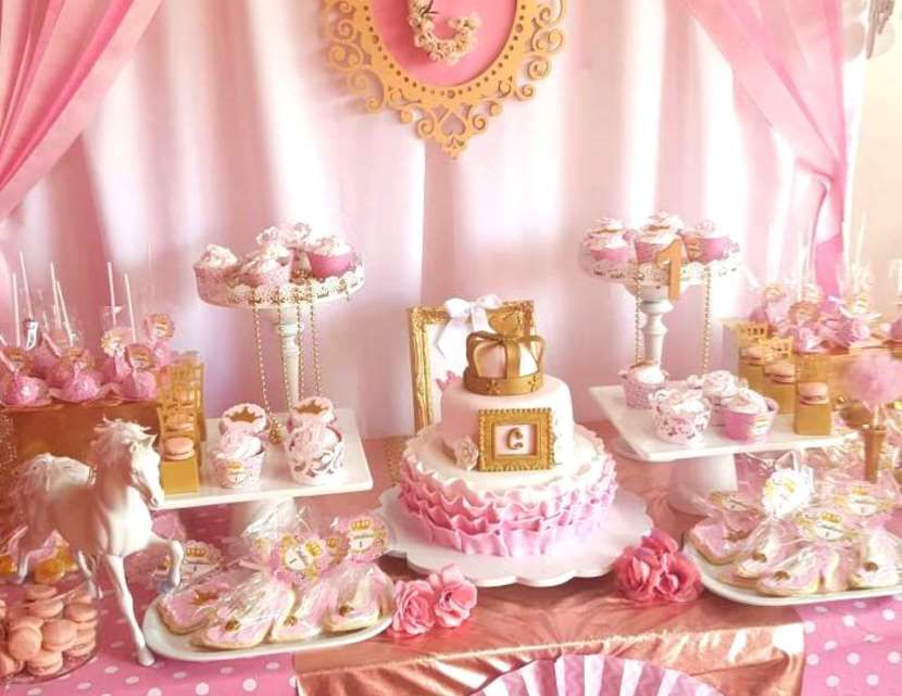 35 cute 1st birthday party ideas for girls birthday for 1st birthday decoration themes