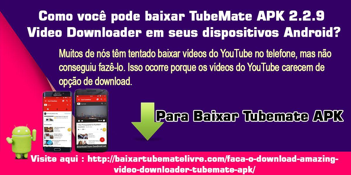 download de videos do youtube apk