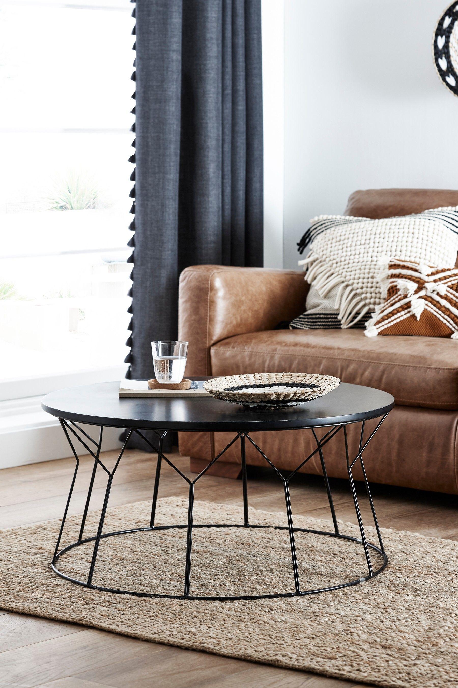 Next Modine Black Coffee Table Black Coffee Table Black Glass Coffee Table Round Metal Coffee Table [ 2700 x 1800 Pixel ]