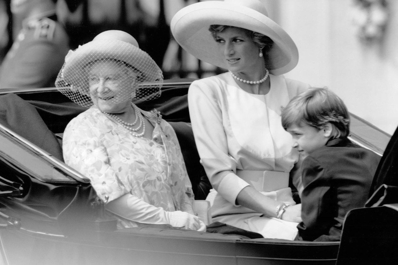 Prince William and Princess Diana in 20 nostalgic photos