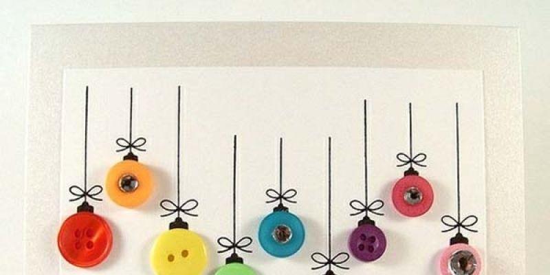 adornos de navidad de fieltro cmo hacer bolas caseras with como hacer tarjetas de navidad originales
