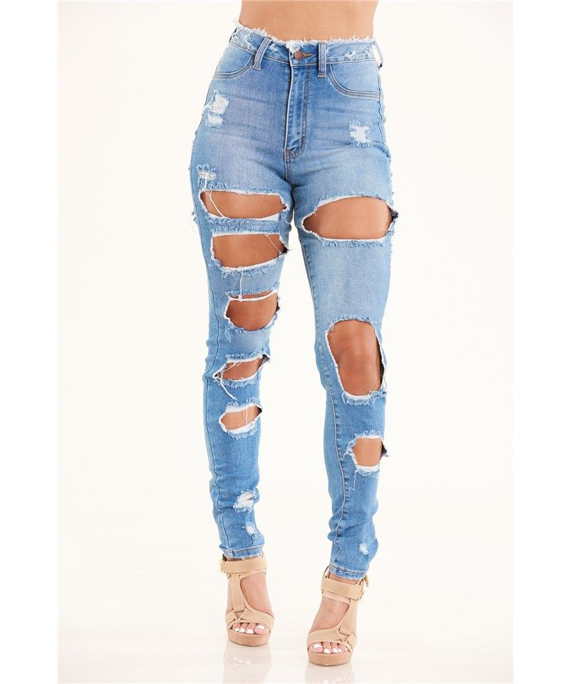 Aphrodite Extreme Ripped Jeans | Discovery