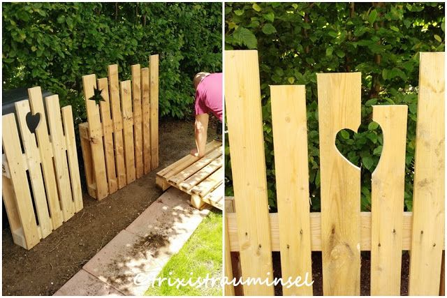 Photo of trixistrauminsel: – DIY tre – trepall – pallgjerde