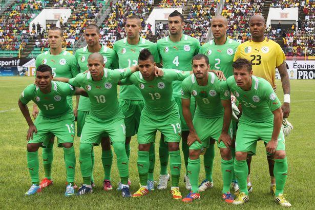 Algeria National Football Team Zoom Background 5