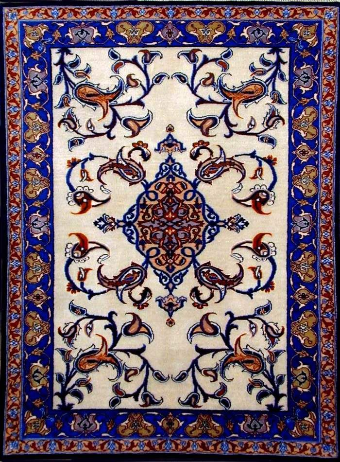 Turkish Carpets Since 5000 Bc Note The Tulips Which Are