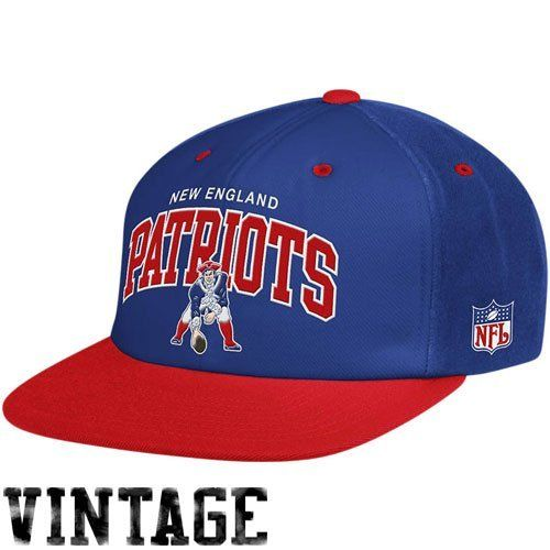 fc45c1c19ce Mitchell   Ness New England Patriots Flat Brim Snap Back Hat Adjustable by  Mitchell   Ness
