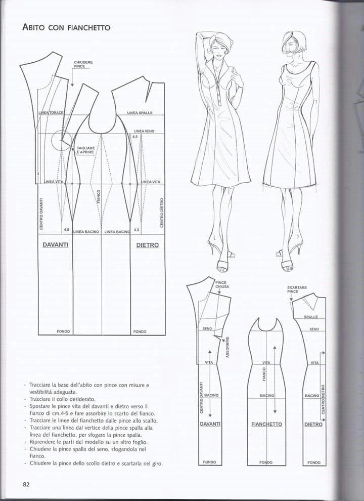 Pin de LSN en Para coserte mejor | Pinterest | Patrones de costura ...