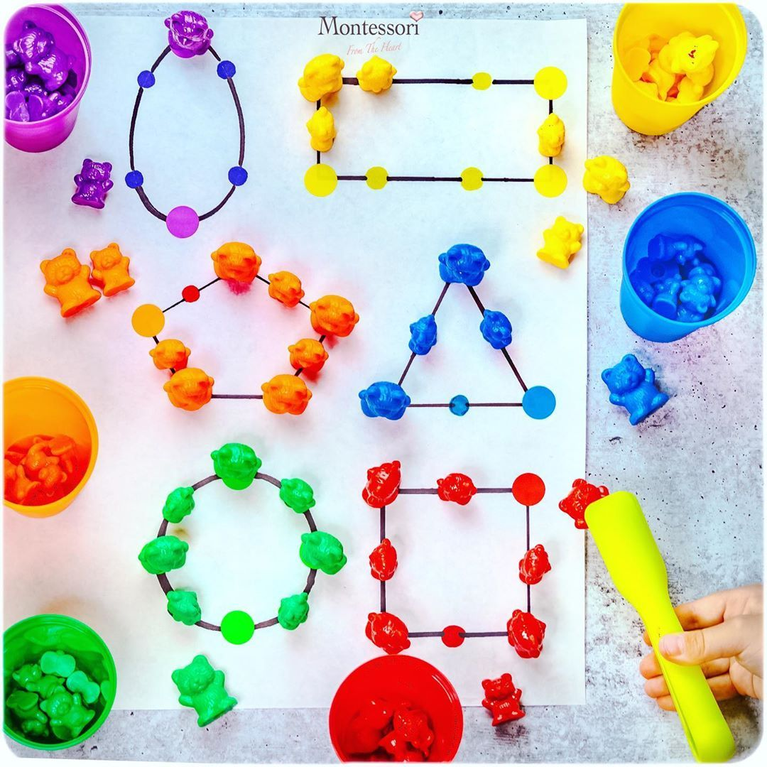 Anya Montessori You Can Do On Instagram Counting Bears Giveaway Are You Familiar With Counting Bea Animal Tracks Animal Tracks In Snow Playdough [ 1080 x 1080 Pixel ]