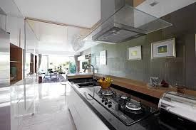 Hasil gambar untuk singapore interior design kitchen modern classic kitchen partial open