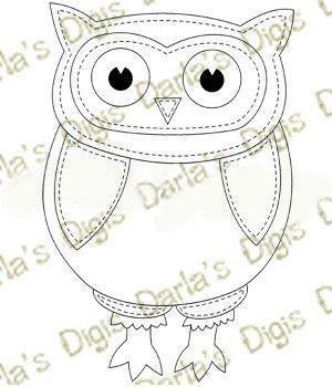 Digidarlas Paper Piercing Owl 2