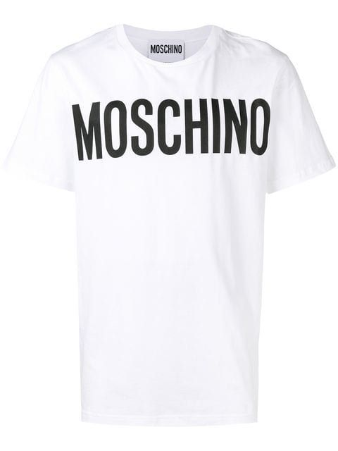 158e8db71 Moschino logo print T-shirt $124 - Shop SS19 Online - Fast Delivery, Price