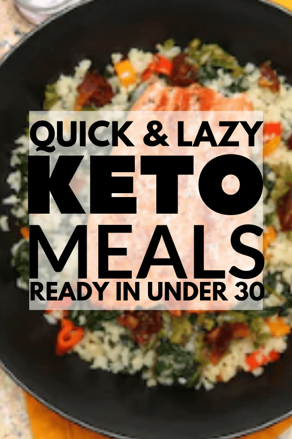 Easy 30 Minute Keto Dinners images