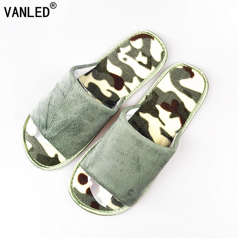 >> Click to Buy << VANLED 2017 New Fashion Cotton Spring Summer Home  Army Green Slippers Men Indoor\Floor Open-Toed Camouflage Slippers Shoes #Affiliate