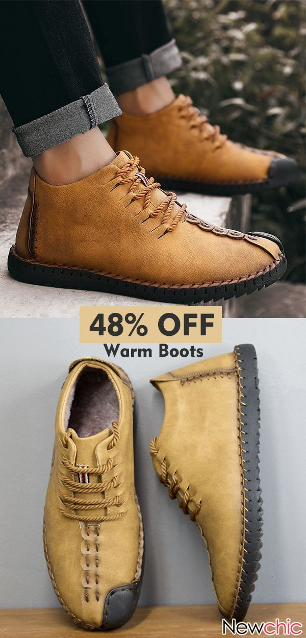 Men Leather Soft Warm Casual Boots.  menswear  boots  mensfashion ... 5b409bc1c5