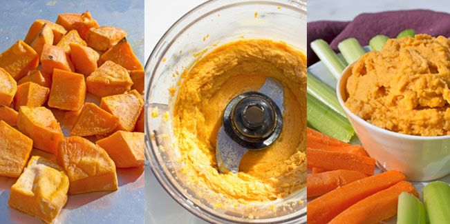 Sweet Potato Hummus - Snap Fitness