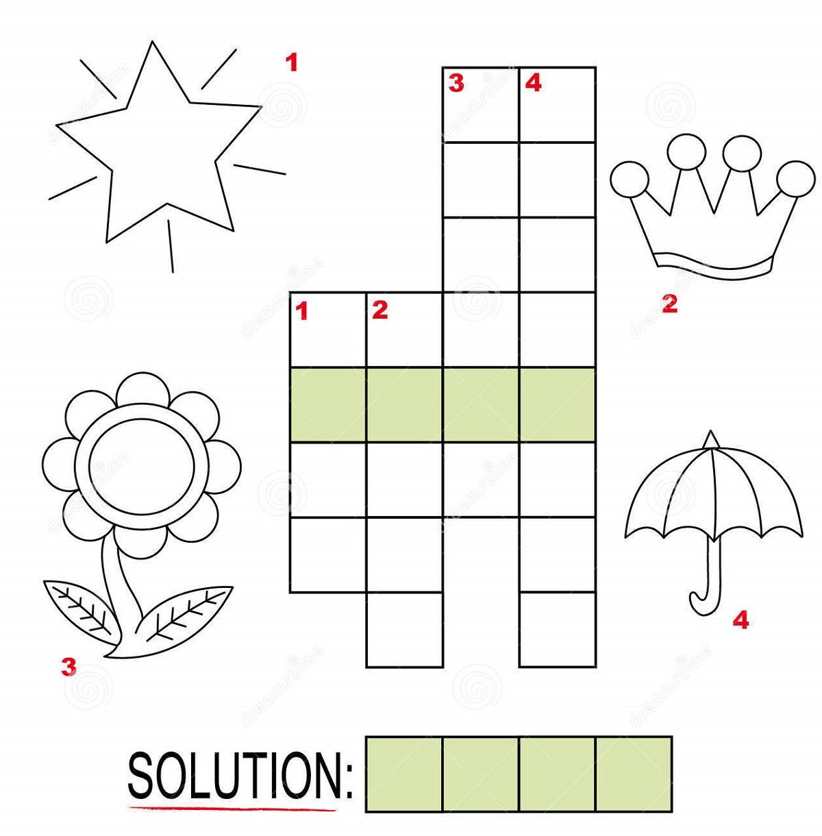 Free Crosswords For Kids Page Memorizing More Words Is