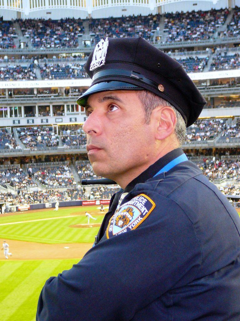 New York S Finest At Yankee Stadium Nypd Yankee Stadium Nypd Yankees