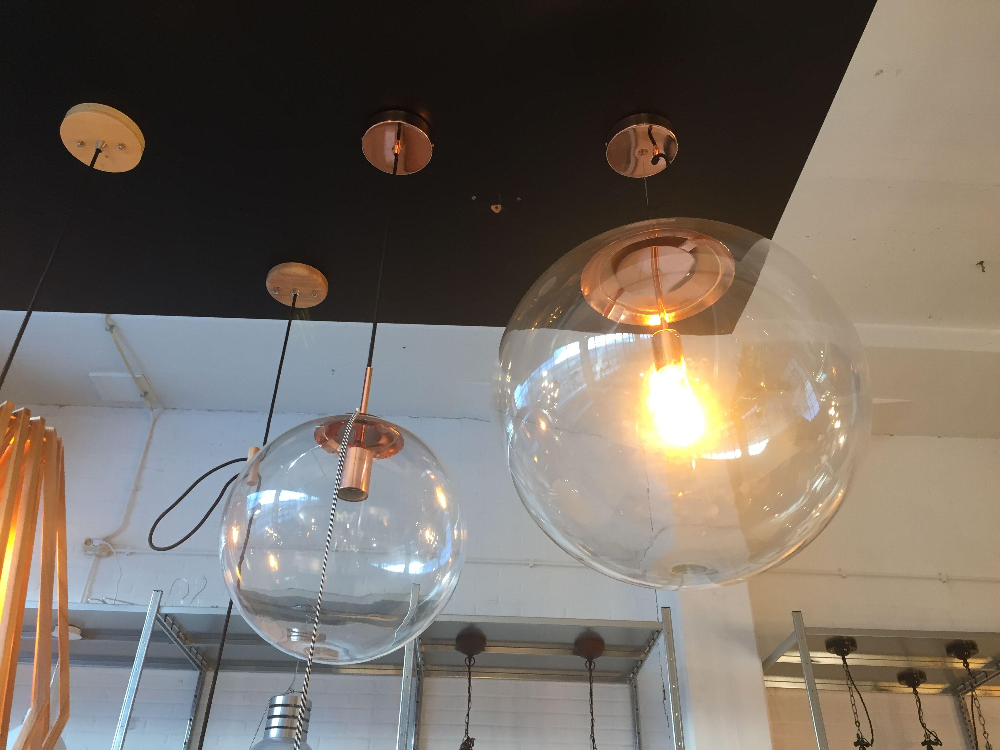 Loods 5 Qazqa Hanglamp Ball 40 Helder 129 Leuchten