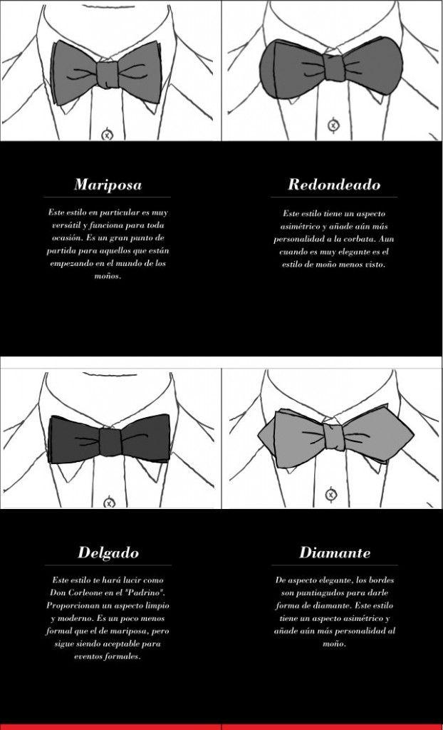 Introducción a los diferentes diseños de moño.