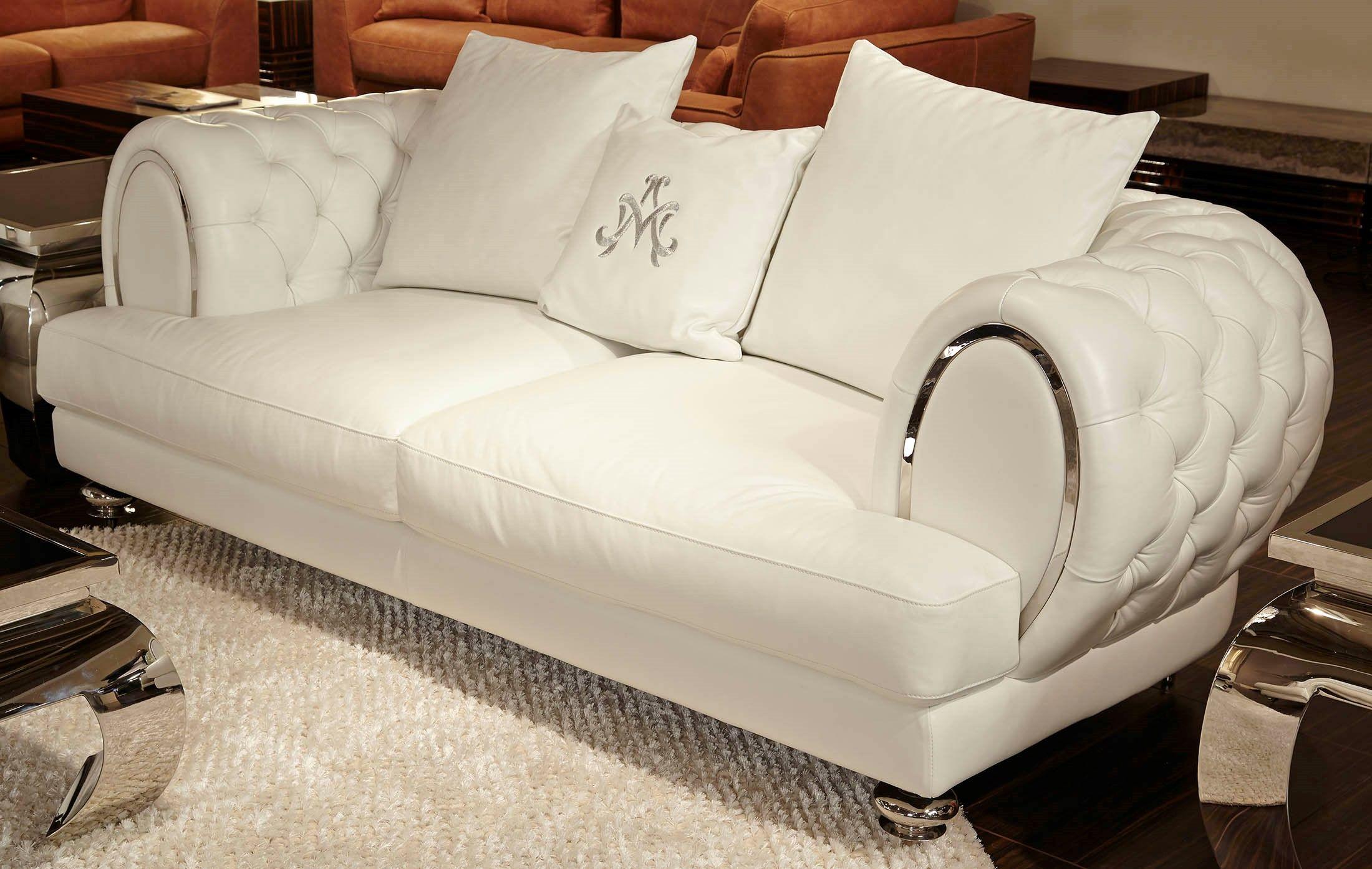 Cool Cream White Leather Sofa Perfect Cream White Leather Sofa