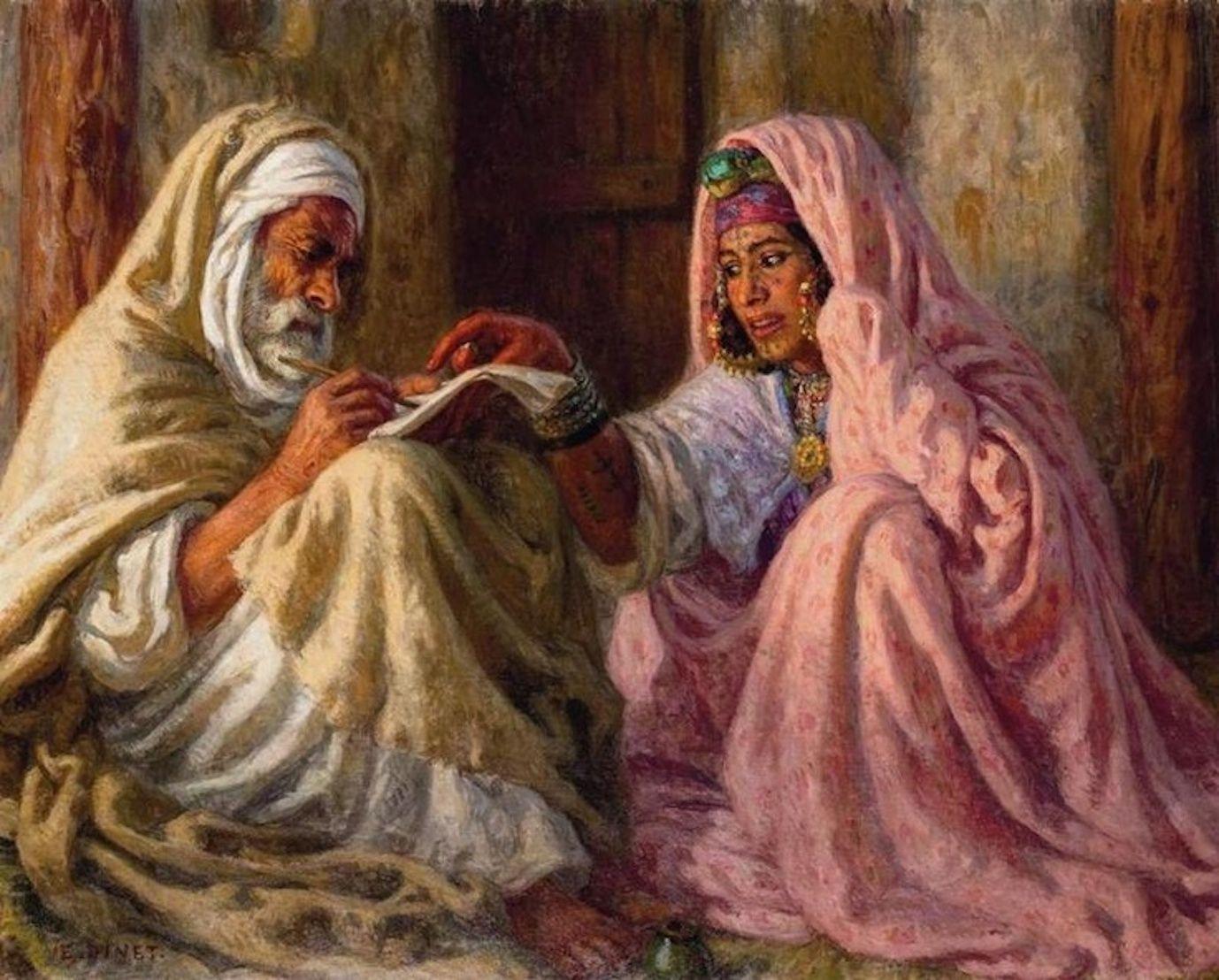 Nasreddine Dinet | Sanat, Resim