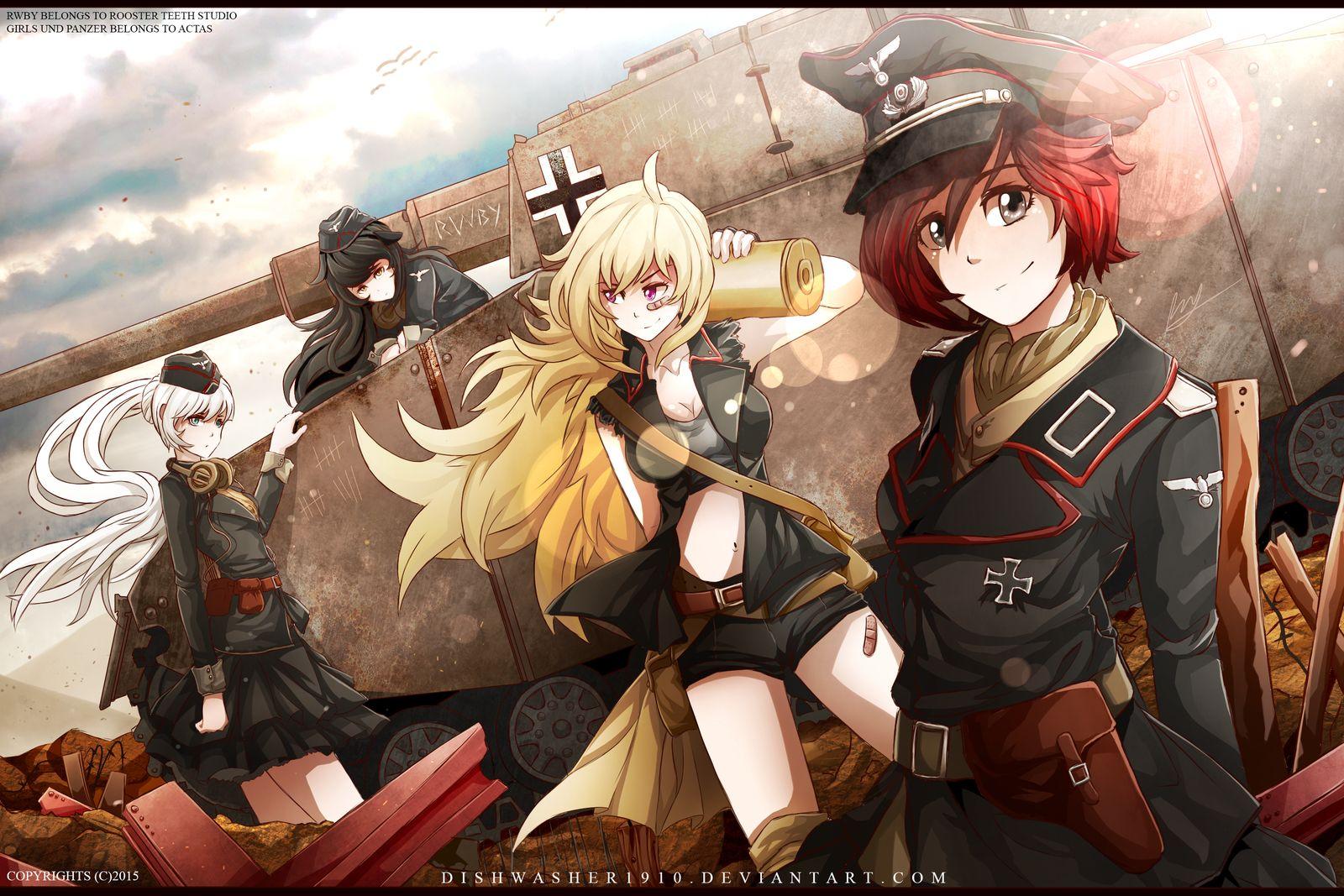 Military Rwby | Rwby | Rwby, Anime military, Rwby fanart