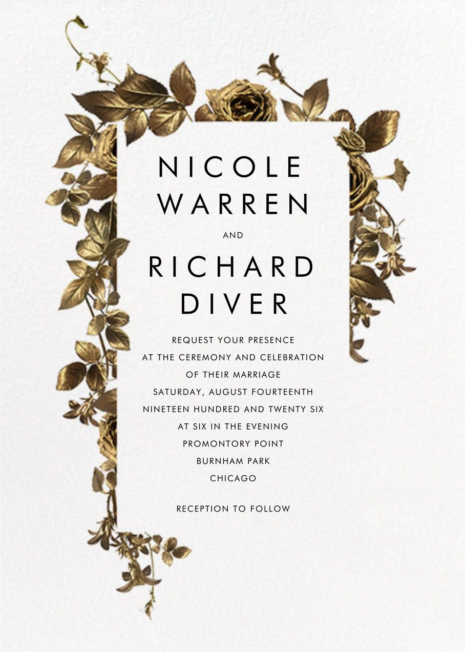 Girardin (Invitation) - online at Paperless Post | Wedding ...