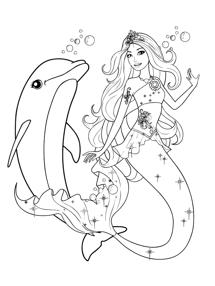 Barbie Mermaid Coloring Page All Girls Must Know Barbie Barbie Is A Beautiful Doll Produc Dolphin Coloring Pages Barbie Coloring Pages Mermaid Coloring Pages