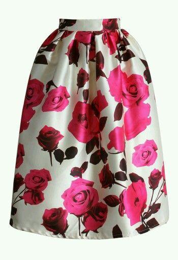 Pin De Lupita Cardenas En Faldas Tablones Tubo Falda De Tablones Faldas Moda