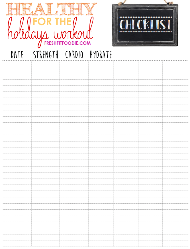 The perfect #workout series to help you stay healthy for the holidays! Three 20 minute #euipmentfree...
