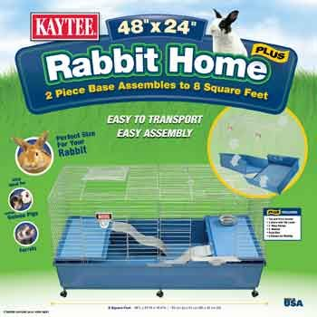 Kaytee Rabbit Home Plus 48 Pets For Sale Pet Supplies Plus Indoor Rabbit Cage