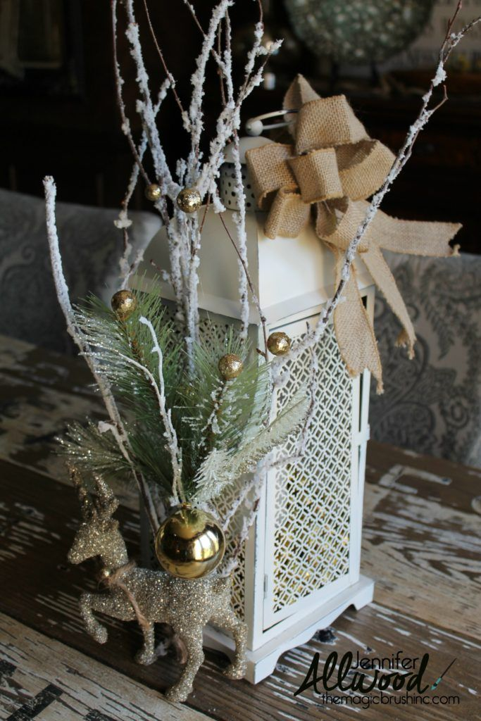 Lantern Decorating Christmas Clearance Decor for Winter Christmas