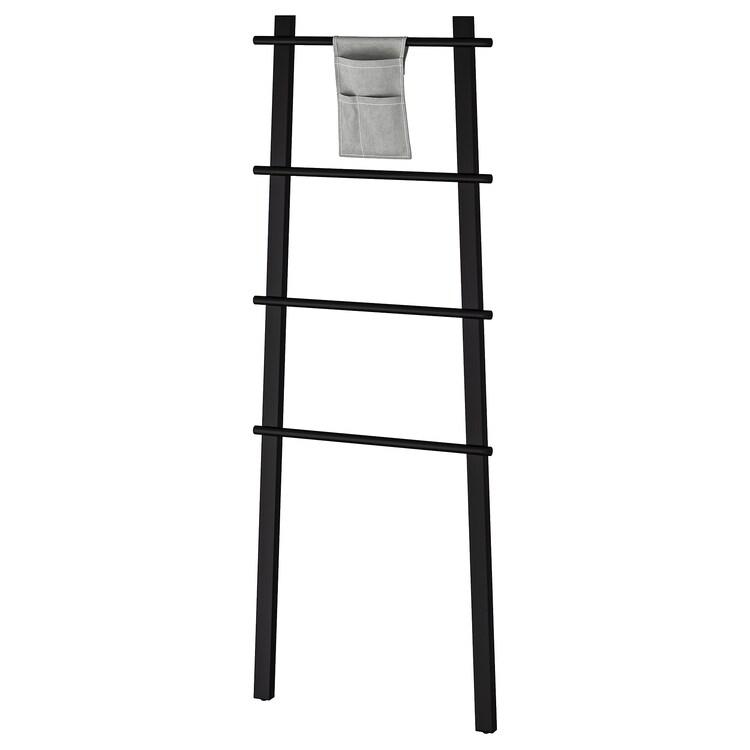 VILTO Towel stand black in 2020 Wet floor, Ikea, Small