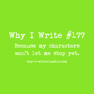 177 because my characters won