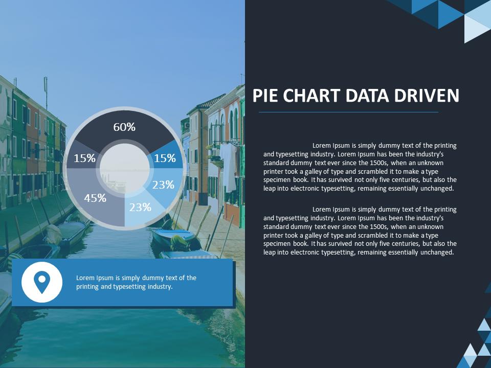 Animated Pie Chart Powerpoint Slide Presentationdesign Slidedesign