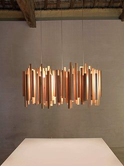 An Ode To Midcentury California Design The Woods Lamp From Spain The Modern Sybarite Advice On Interior Wood Pendant Light Wood Pendant Lamps Wood Pendant
