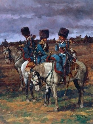 Trumpeters of the Horse Artillery of the Guard-1815-Keith Rocco